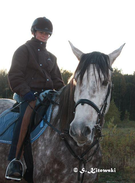 22.10.2011 Momo und Sina in der Kieskuhle