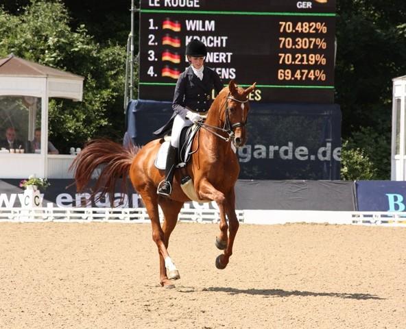Paula de Boer auf Le Rouge - Platz 7