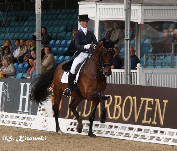 Delphine Meiresonne auf Wipsy van het Heihof - Platz 7