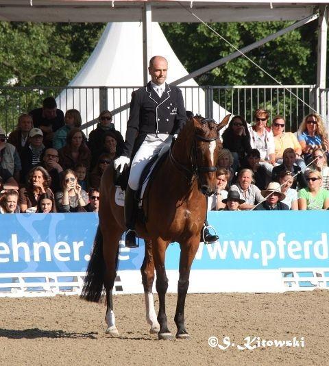 Lars Petersen auf Mariett - Platz 1