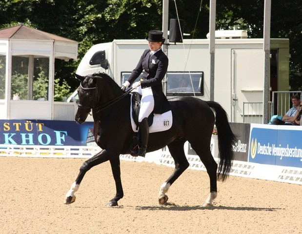 Theresa Eckmann auf Diamond´s Dream - Platz 8