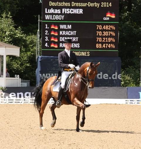 Lukas Wischer auf Wildboy - Platz 9