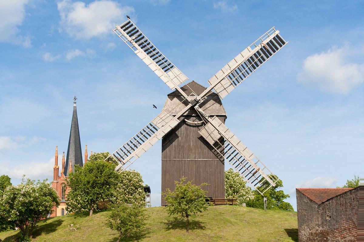 Werderaner Mühle auf der Insel