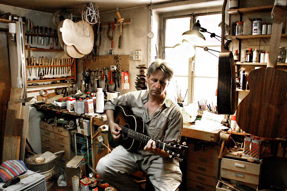 Bei Manzanita Guitars, Foto: Martin Huch