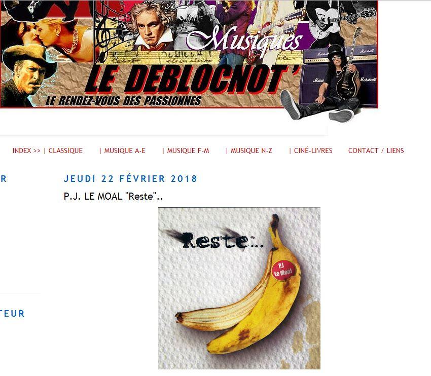 """""""LE DEBLOCNOT"""" 2018"""