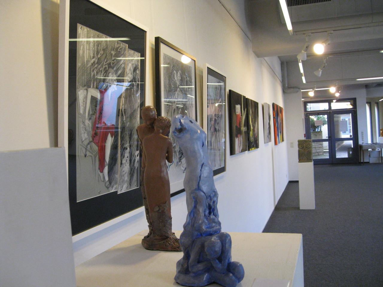 Ausstellung in der Galerie contact