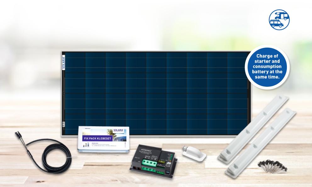 SOLARA Premium Pack solar energy