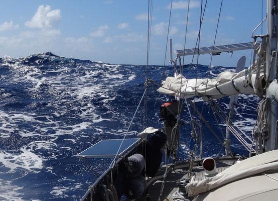 SOLARA at sea