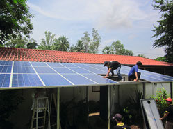 Construction of the SOLARA solar power system
