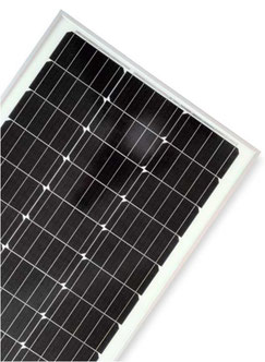 DCsolar Ecolux-series solar panels with 70W & 110W for charging 12 volt batteries. Solar panels with frames for motorhomes, campers, caravans & vans. Inexpensive solar panels with Sunpower solar cells also as a complete set with 110W. Inexpensive!