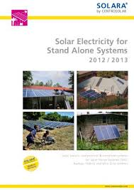 SOLARA by Centrosolar catalogue 2012/2013