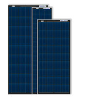 Solar panels SOLARA S-series with frames with 95W, 120W & 190W. Ideal for retrofitting and for complete sets with charge controller and mounting systems. The solar panels passed all tests. Solar panels for motorhomes, campers, caravans and vans.