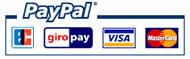 Bei mir können Sie Sicher und bequem zahlen mit Paypal!