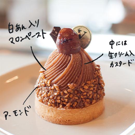 モンブラン 518円