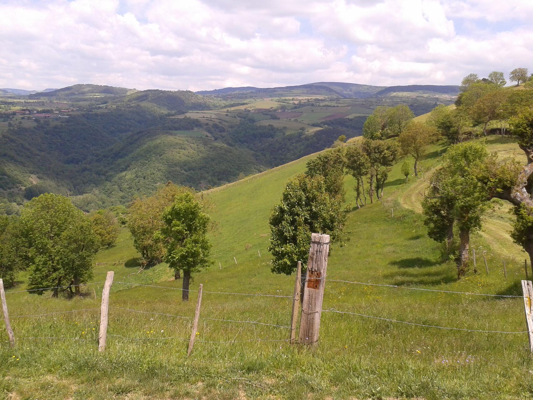 La vallée de L' Allier, Hébergement dans les gorges de l'Allier, Saugues, Auvergne