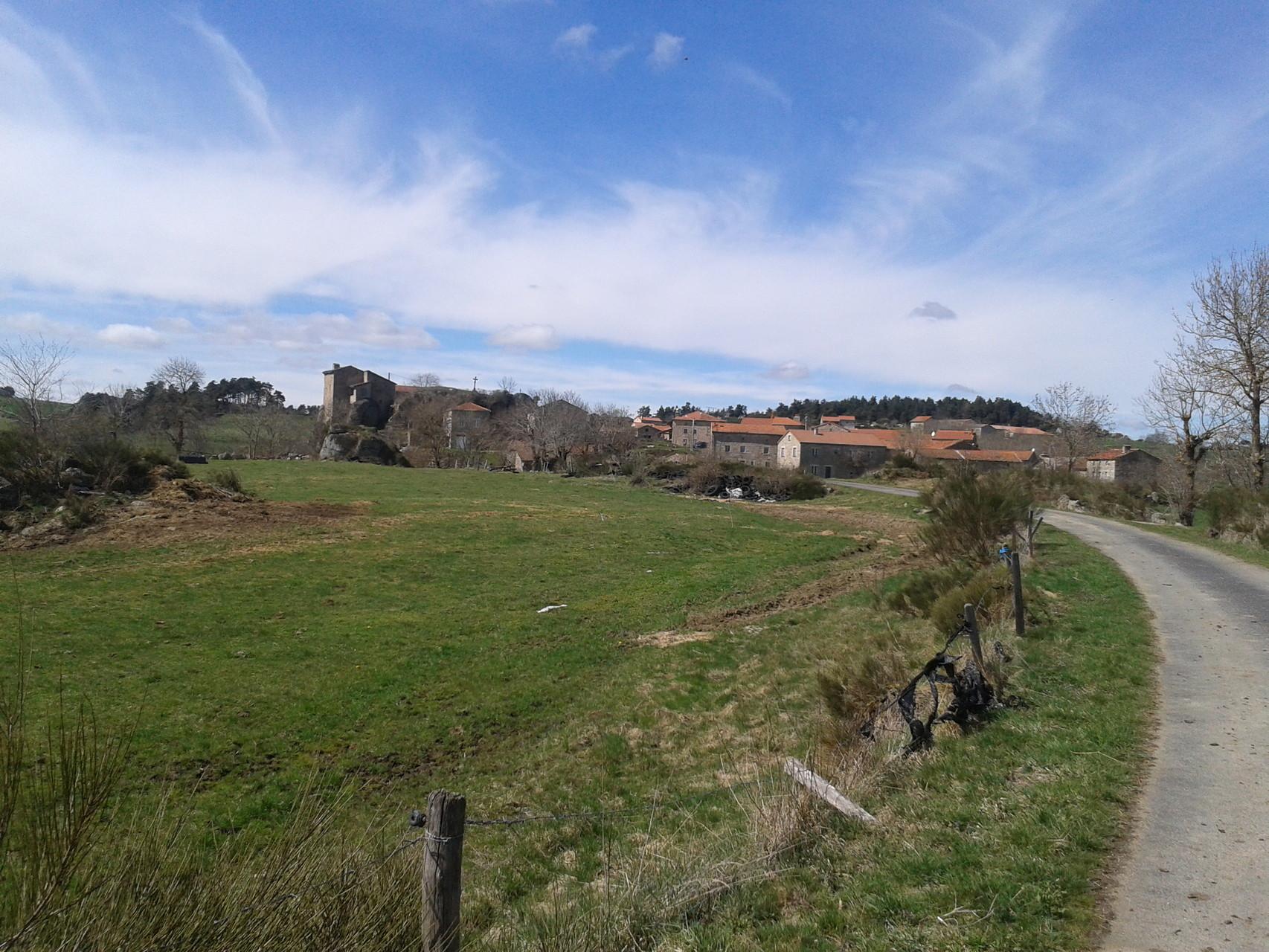Charraix, randonnée en étoiles à partir du Centre La Margeride, Saugues, Auvergne