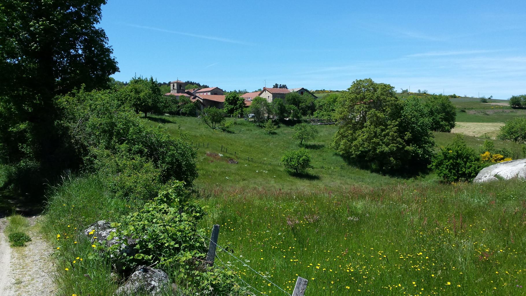Le village de Charraix, Gîte de Groupe La Margeride, saugues, Auvergne