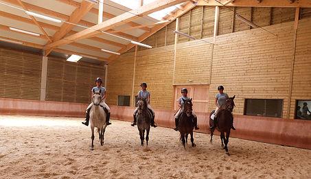 Centre équestre, Saugues, équitation Centre La Margeride Saugues Auvergne