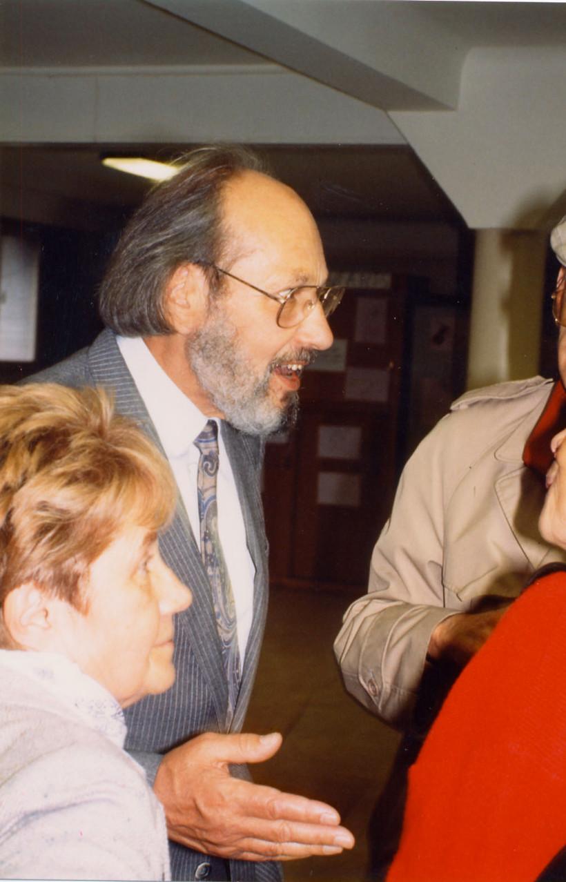Cinquantenaire de l'église (1989) - Le Père Zunthor