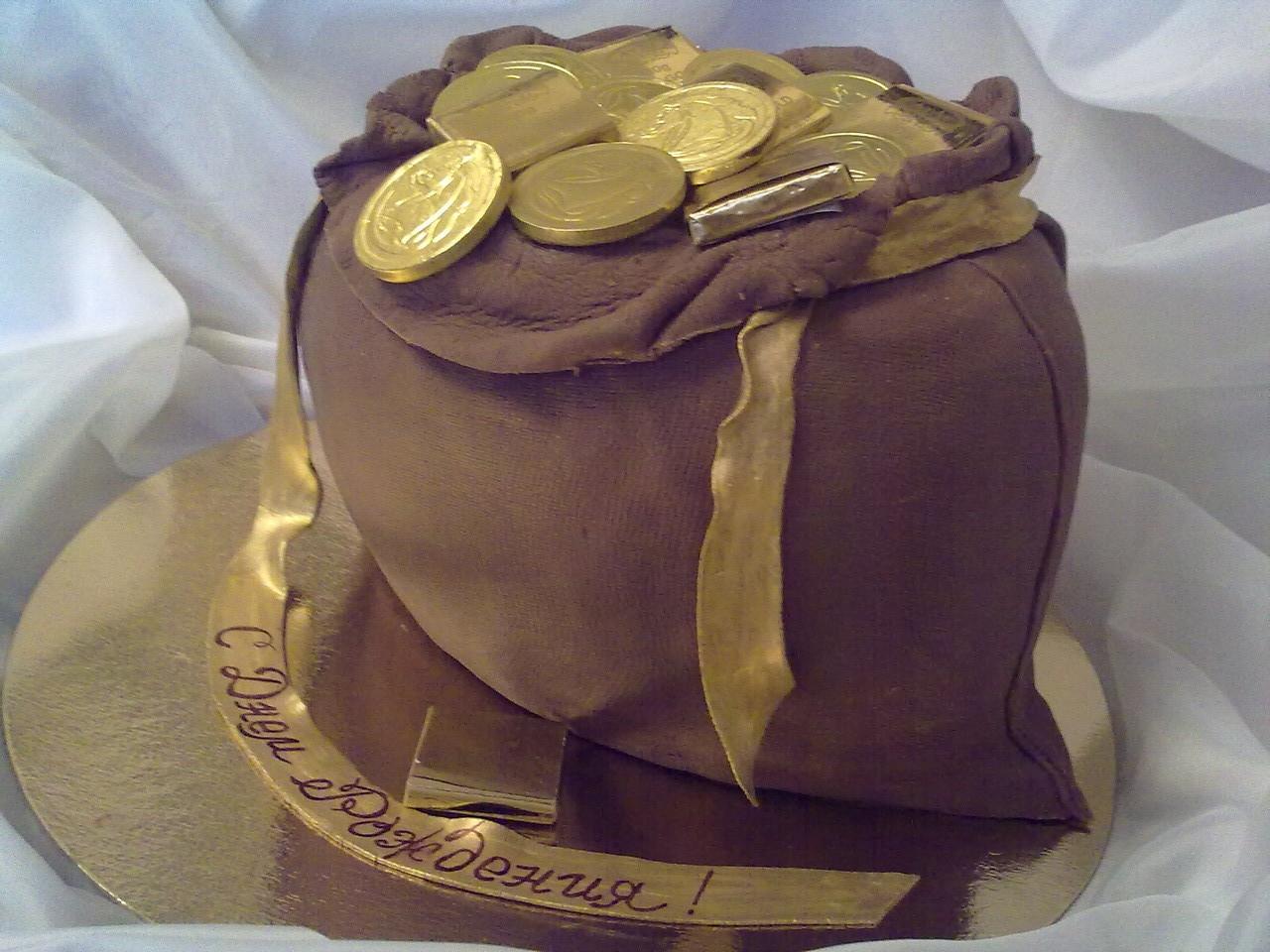особенного образе торт мешок с деньгами из мастики фото разных