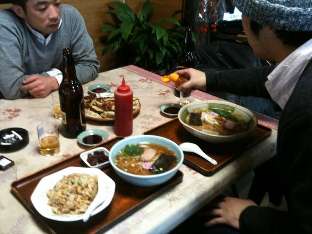 Ramen at Sapporo restaurant Tokyo Fuchu