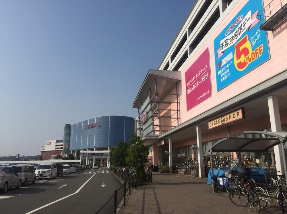 Entrance of Aeon Mall Musashimurayama Tokyo Musashimurayama