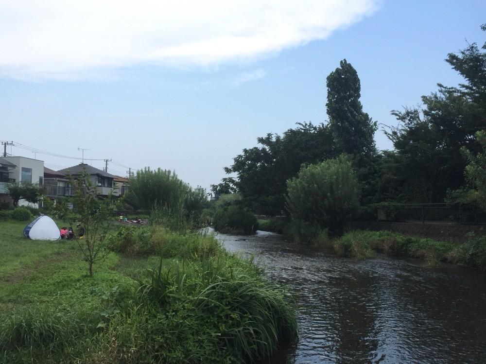Ochiai River side park Tokyo Higashikurume