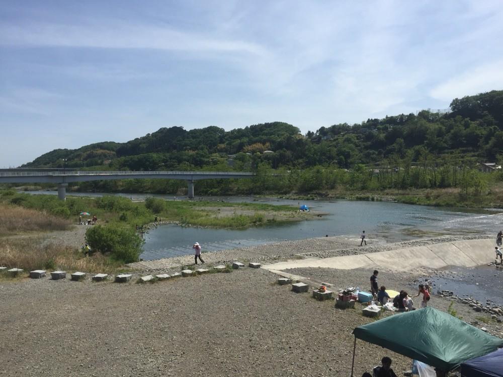 Hamura Syusuiseki of Tama River Tokyo Hamura