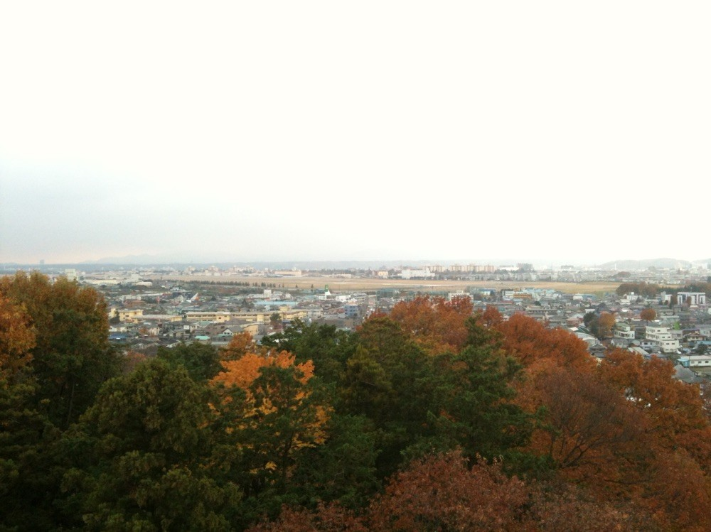 Yokota airport view from Mizuho View Sky Hall Tokyo Mizuho