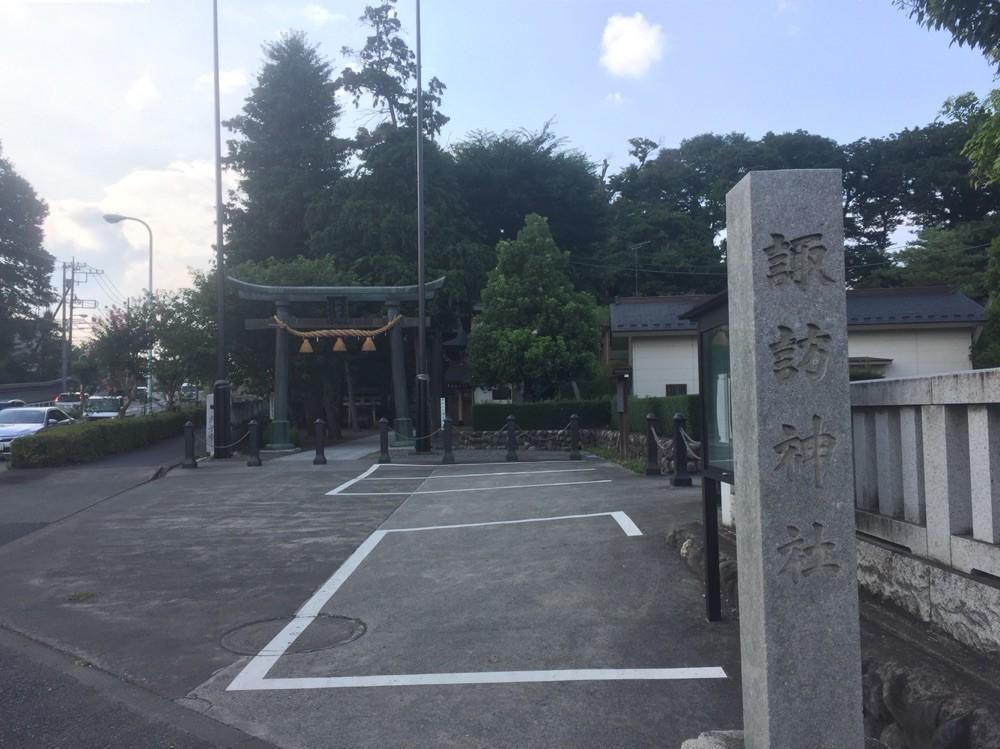 Entrance of Suwa Shrine Tokyo Akishima