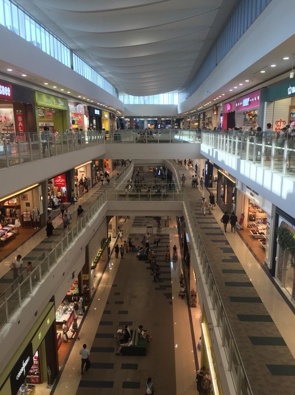 Inside of Mall Musashimurayama Tokyo Musashimurayama