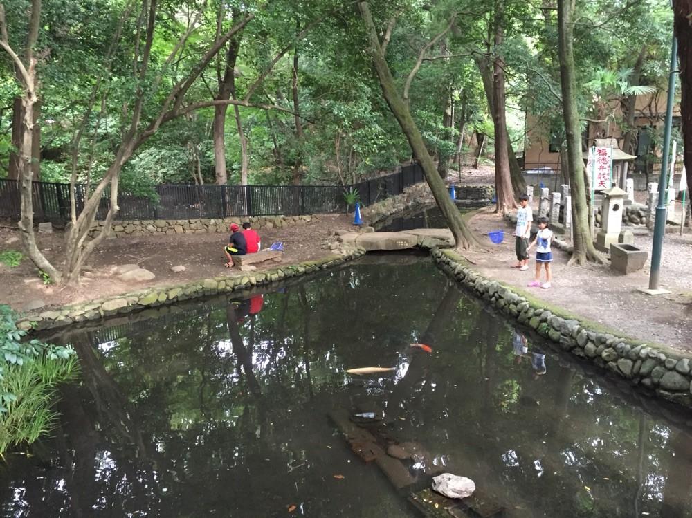 Benzaiten pond Tokyo Komae