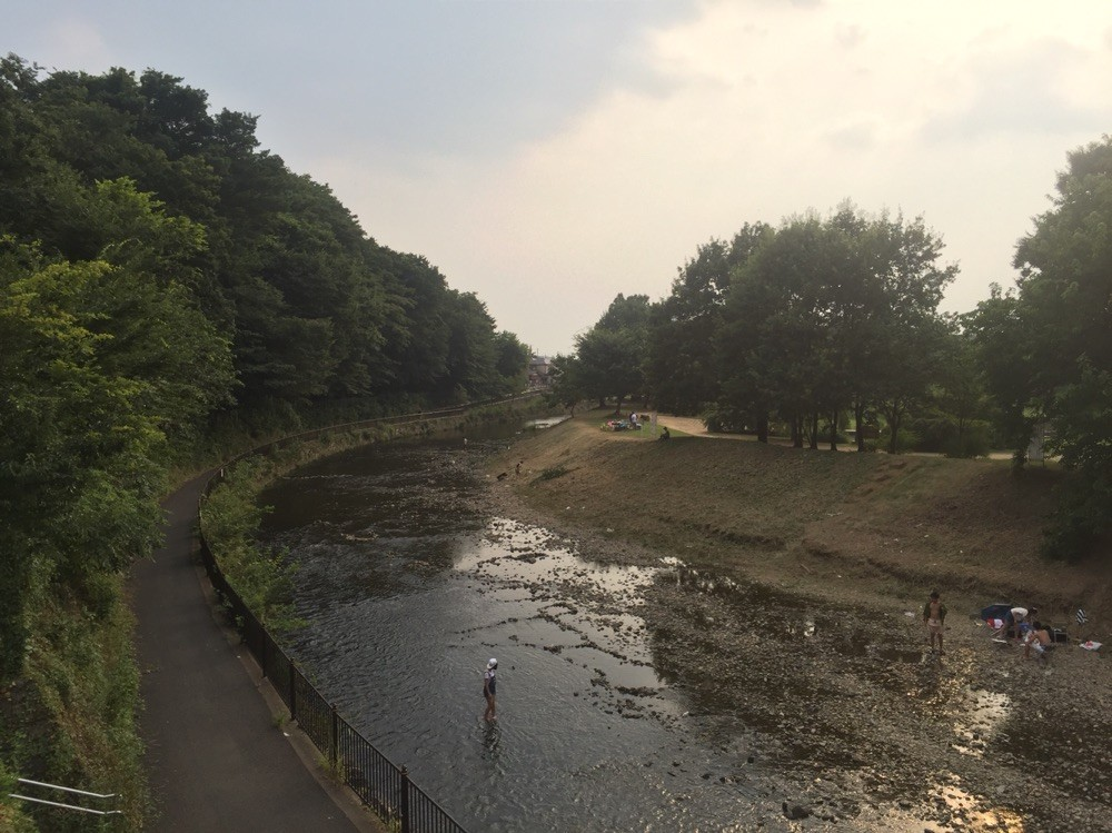 Yanase River at Kanayama Green Park Tokyo Kiyose