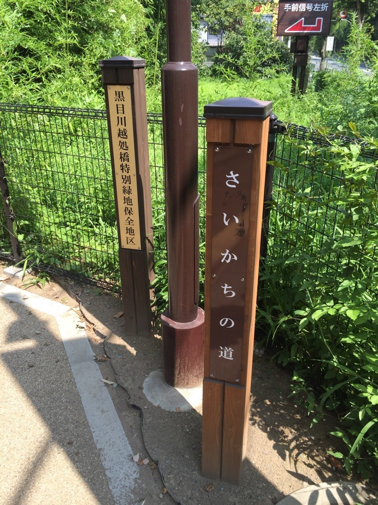 Starting point of Saikachi road Kurome River Tokyo Higashikurume walking nature tourist spot TAMA Tourism Promotion - Visit Tama さいかちの道 入口 東京都東久留米市 散策 自然 観光スポット 多摩観光振興会