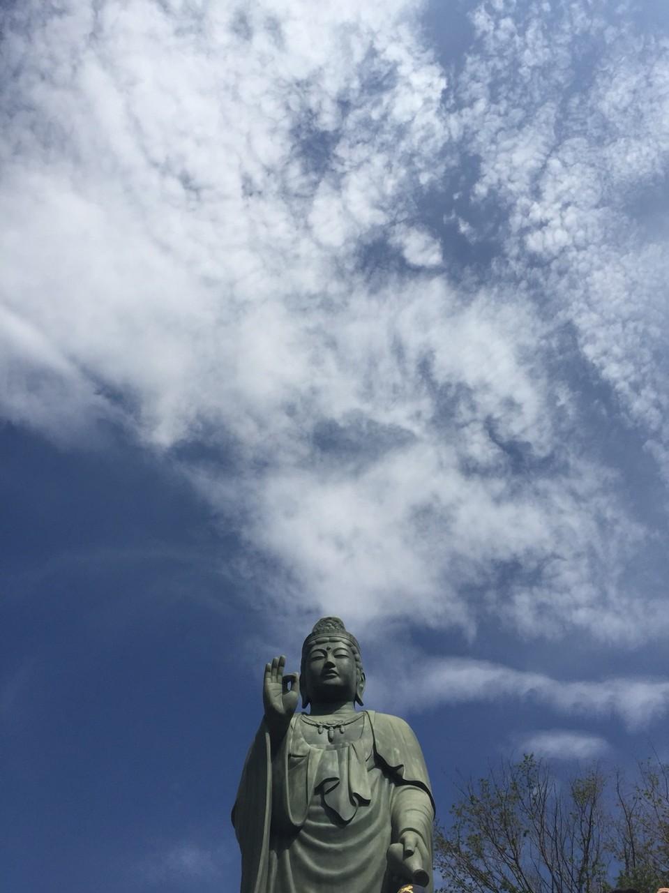 God Statue of Shiofune Kannon Temple Tokyo Ome