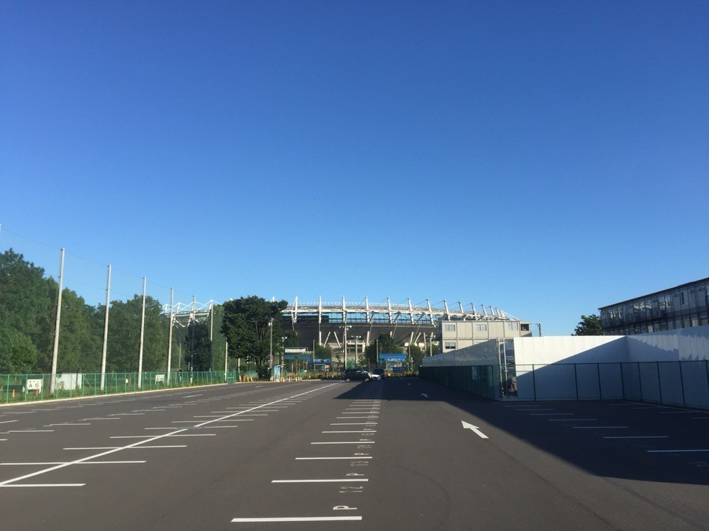 Ajinomoto Stadium Car parking Tokyo Chofu