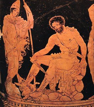 Ulises, también llamado Odiseo, protagonista de la Odisea.