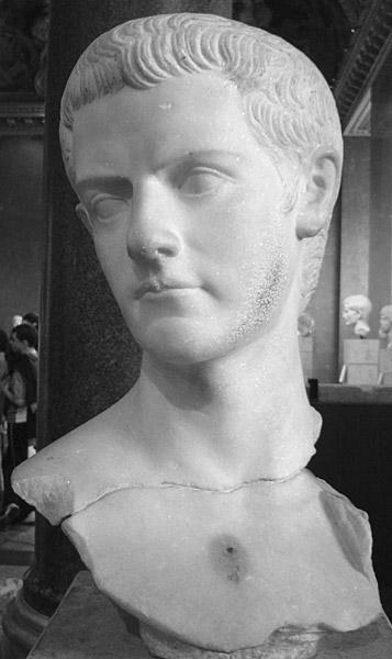 Calígula; Museo del Louvre; Roma; emperador romano;