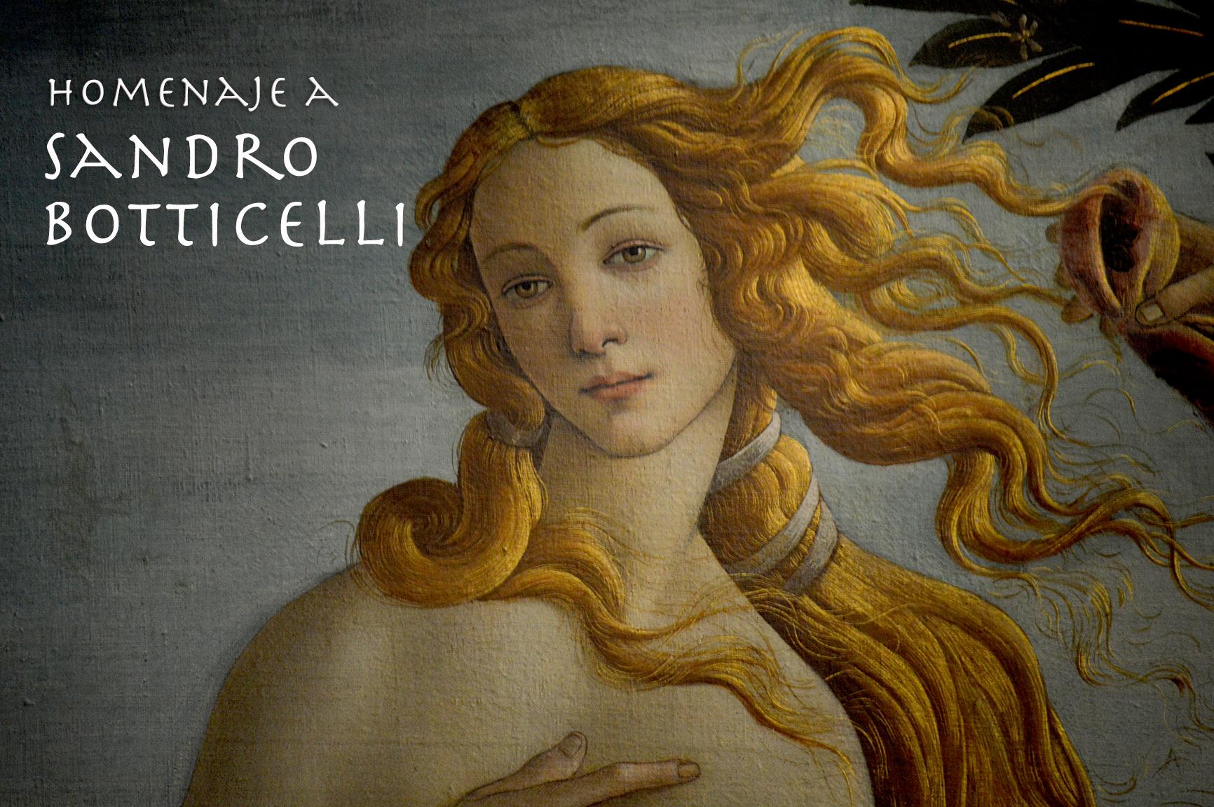 Homenaje a Sandro Botticelli