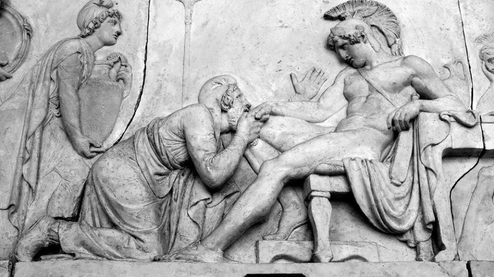 Príamo; Héctor; Aquiles; Guerra de Troya; Ilíada;
