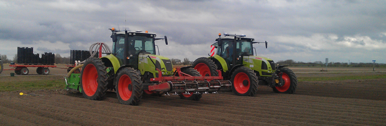 2x Claas Arion 640