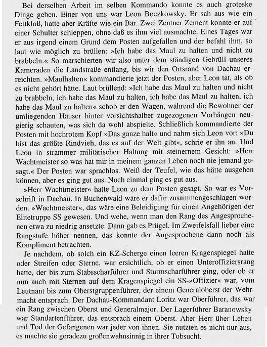 Erinnerungen von Emil Carlebach an Leon Boczkowski