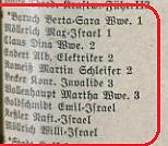 Adressbuch Klosterstraße 24  (1940)