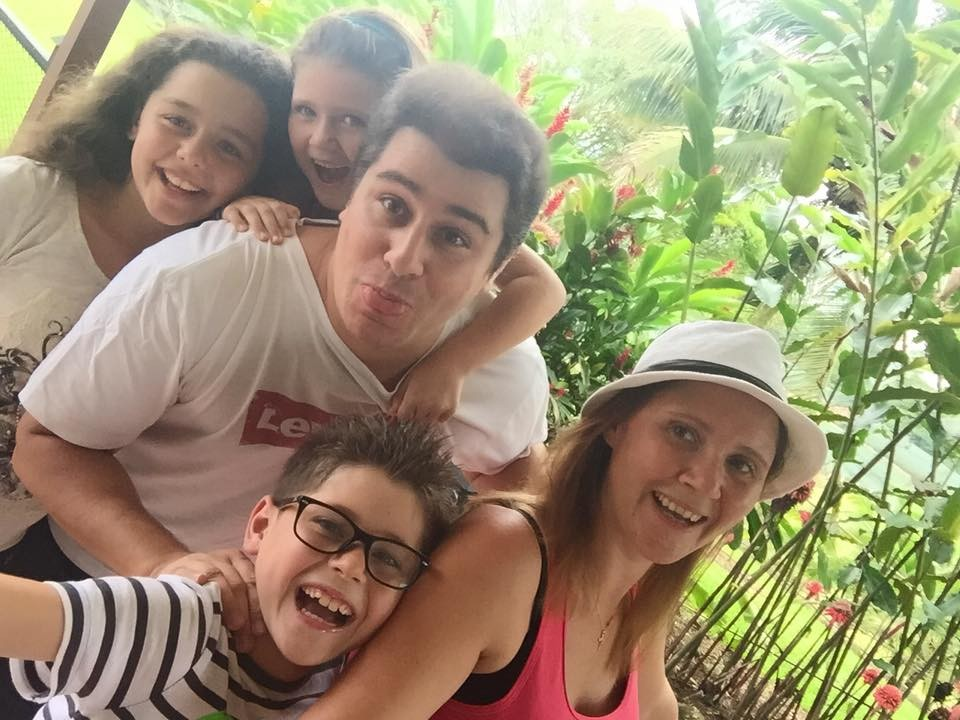Andrea and family - www.enjoying-costarica.com