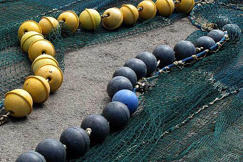 Le reti dei nostri pescherecci