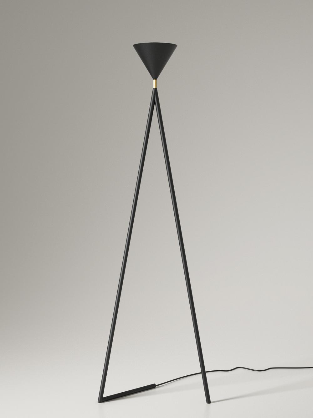 Black - brass Model Cone