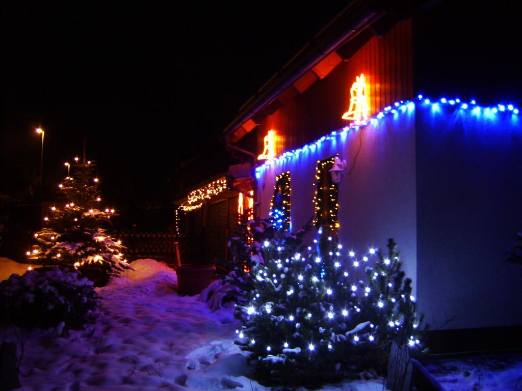 Weihnachten 2008 mal von der anderen Seite aus gesehen
