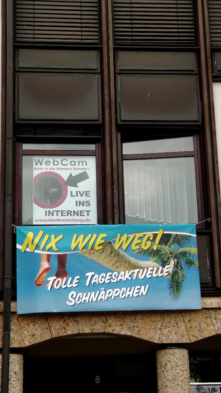 Live Webcam nur zur Kulmbacher Bierwoche