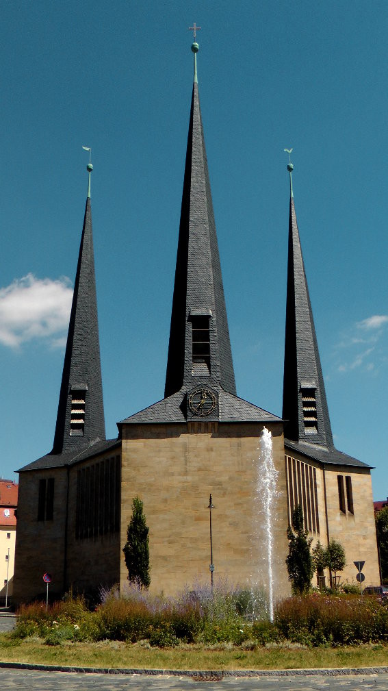 Ev.-Luth. Christuskirche in Bayreuth © Copyright by Olaf Timm
