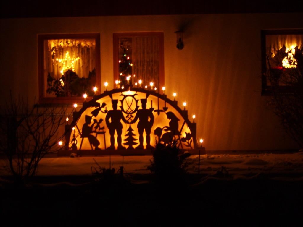 Weihnachten 2008 und etwas näher betrachtet
